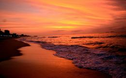 File Name : NatureSundown Beaches seaside sunset wallpaper 043306 845
