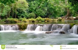 Smooth Waterfall Stock PhotoImage: 43016069 853