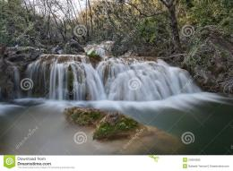 Milky Smooth Waterfall Royalty Free Stock PhotoImage: 24294385 333
