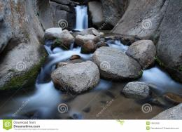 Smooth Waterfall Stock PhotoImage: 19815530 720
