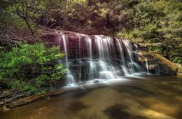 Silky Smooth WaterfallWentworth Falls 171