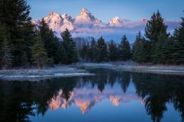 Snake river grand tetons forest usa peaks wallpaper 541