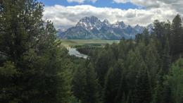 Snake river in the mountains wallpaper #5374 275