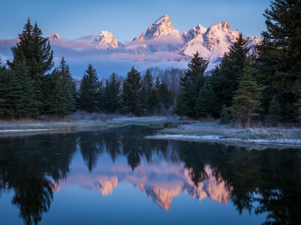 Snake river grand tetons forest usa peaks 1024x768 1791
