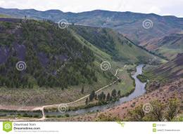 Snake River Canyon, Idaho Stock ImageImage: 11111911 1470
