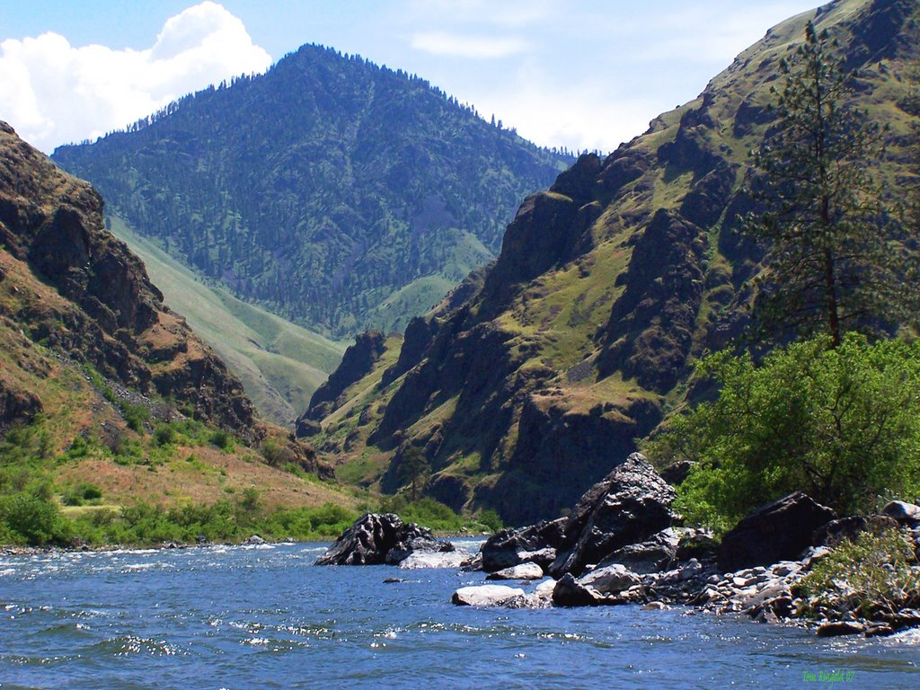 The Snake River in Hell's CanyonBe a River Ranger with the Wallowa 1154