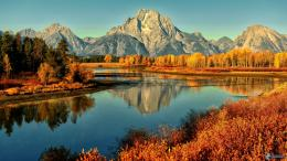 national park, snake river, river, yellow autumn forest 162717 jpg 1879