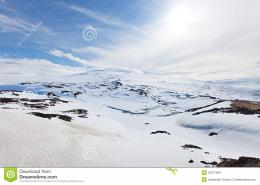 Snow Mountain And Blue Sky Stock PhotosImage: 25017953 242