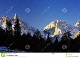 Snowy Mountains Stock ImagesImage: 31340254 251