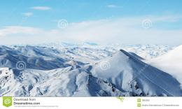 Snowy Mountains Under Beautiful Sky Royalty Free Stock PhotoImage 1310