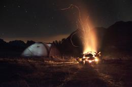 Camping Under the Stars , by Simone Miotto, French Alps, France, Nikon 1539