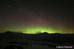 Northern Lights over spectacular landscapesSternstunden 792
