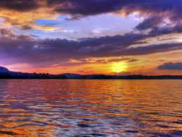 wallpapers for Splendid Tellico Lake in East Tennessee at sunset 1716