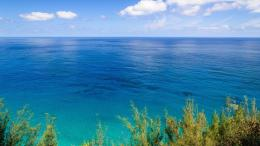 Splendid day on the blue ocean Widescreen Wallpaper#20651 1084