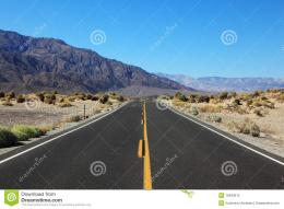The Road In The California Desert Stock PhotosImage: 16483613 120