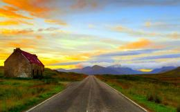 Straight Highway In The Desert Wallpaper HdFree Android Application 1876