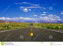 Desert Highway Royalty Free Stock PhotosImage: 3512758 672