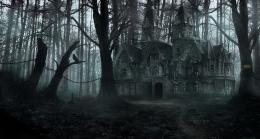Creepy forest mansion by LMorse on DeviantArt 156