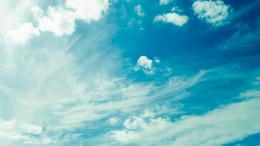 Download Summer blue sky High quality wallpaper 705