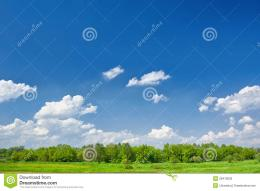 Summer Clouds Blue Sky Background Stock PhotosImage: 28419003 1402