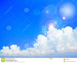 Blue Sky Of Summer Stock PhotosImage: 31824853 1009
