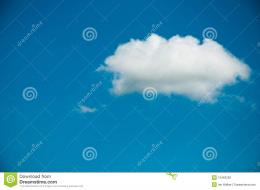 Summer Clouds On Blue Sky Stock PhotographyImage: 10463282 578