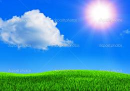Beautiful summer blue sky — Stock Photo © articoufa #1213097 1002