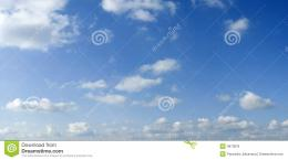 White Summer Clouds On Blue Sky Royalty Free Stock ImagesImage 118