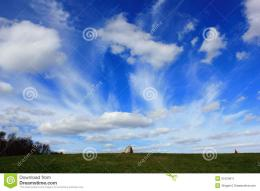 Summer Blue Sky Stock PhotoImage: 51034611 1299