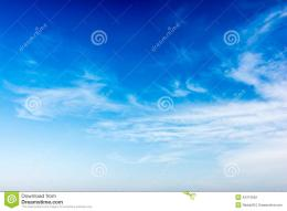 Summer Blue Sky Stock PhotoImage: 43474652 1438