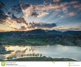 Clouds Illuminated Rising Sun Royalty Free Stock ImagesImage 1523