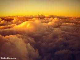 sky photo clouds during sunrise from airplane taking off aerial 1649