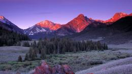 Beautiful Sunrise On The Lost River Range hd wallpaper #1037772 166