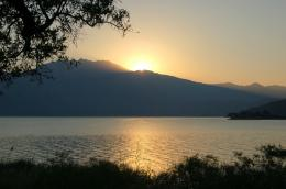 Description Bafa lake sunrise JPG 919