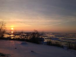 PanoramioPhoto of Sunrise on Lake Superior 290