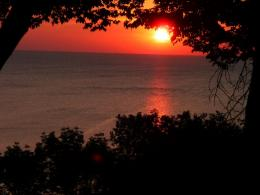 PanoramioPhoto of Sunrise on Lake MichiganMilwaukee 844