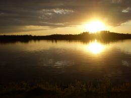 PanoramioPhoto of Sunrise on Lake Vermillion,SD 1029
