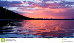 Sunrise On Leigh Lake Royalty Free Stock PhotoImage: 1510945 1000