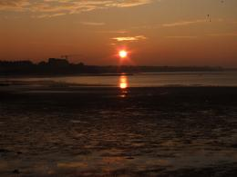 Sunset over Margate Beach 509