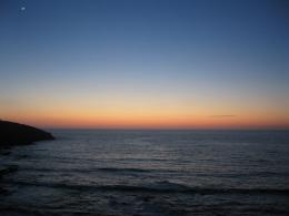 Sunset Over Fistral Beach 1258
