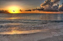 HDR Beach Sunrise small 1137