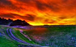 Awesome HDR Sunset Wallpaper Wallpaper 1642