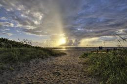 Jupiter Inlet Beach Sunrise | HDR Photography by Captain Kimo 918