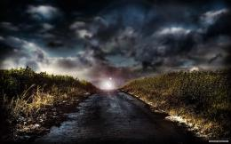 Magical Road Under Stormy SkiesHD Wallpaper, get it now! 1922