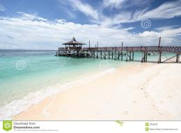 Tropical Island Pier Royalty Free Stock ImagesImage: 3606009 1606