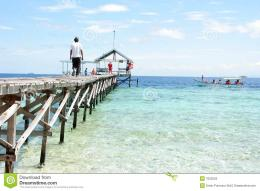 Pier At Tropical Beach Stock PhotosImage: 7052523 435