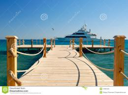 Tropical Pier Royalty Free Stock PhotosImage: 12995228 1729