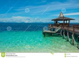 Pier At Tropical Island Stock PhotographyImage: 15914702 166