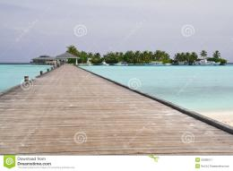 Pier At The Tropical Island Royalty Free Stock PhotographyImage 1787