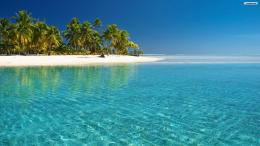tropical beach wallpaper glass water 1920x1080 1215